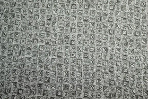 Doublure imprimée grise