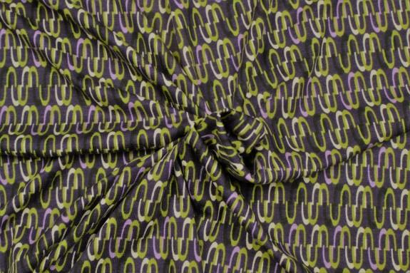 Jersey motifs géométriques