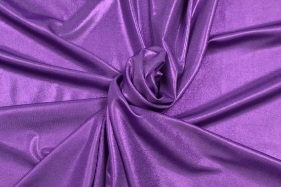 Maille scintillante violette