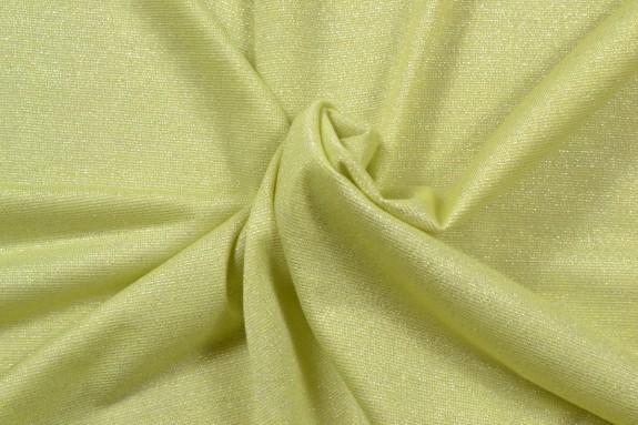 Jersey lurex jaune