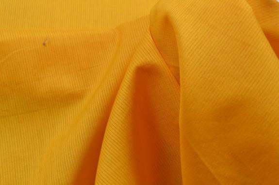 Voile de coton moutarde