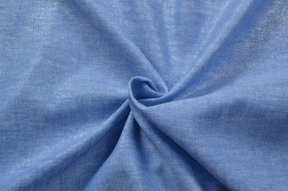 Lin bleu irisé