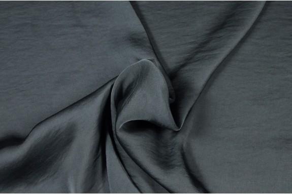 Satin lavé gris