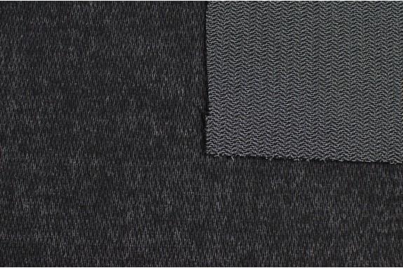 Entoilage tissé noir