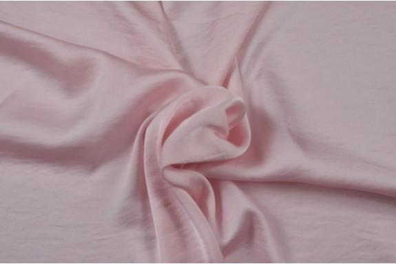Satin lavé rose
