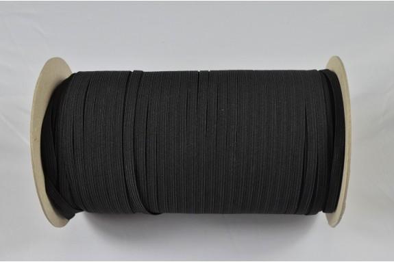 Elastique noir 7 mm
