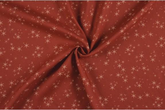 Crêpe polyester étoile