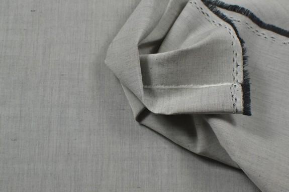 Lin mélangé gris chiné