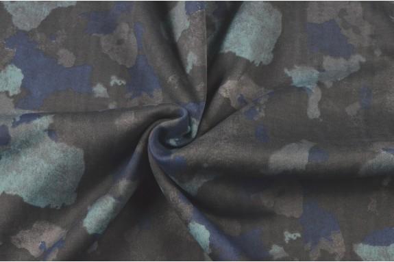 Molleton militaire bleu