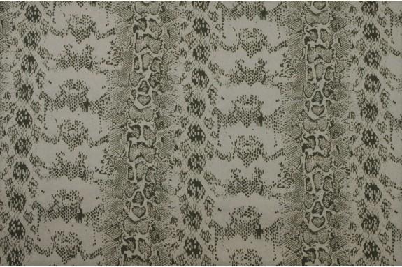 Coton motif kaki
