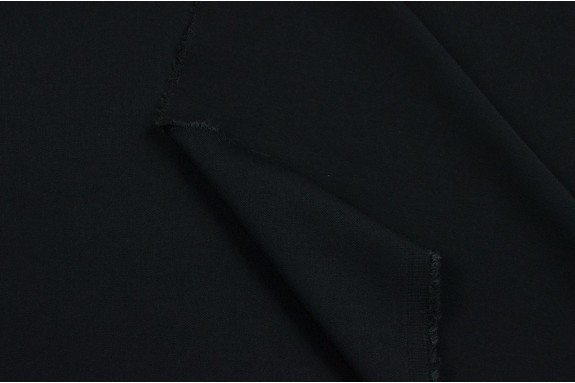 Tissu extensible noir