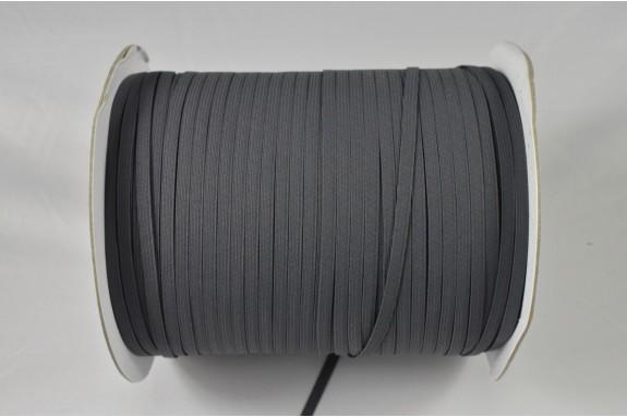 Bobine de 450 m élastique gris 5mm