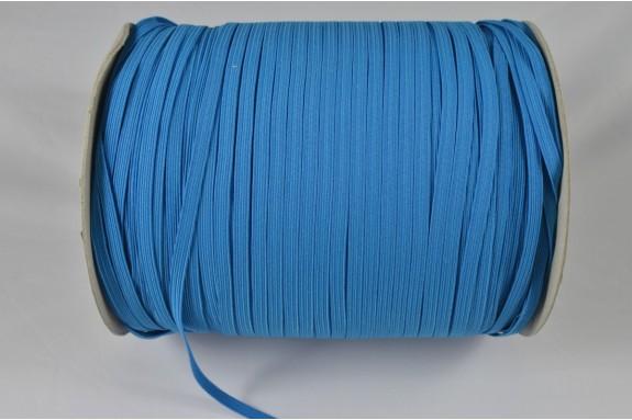Bobine de 600 m élastique bleu piscine 5mm