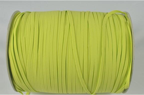 Bobine de 200 m élastique vert anis 5mm