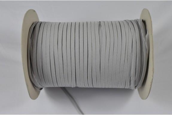 Bobine de 430 m élastique gris clair 5mm