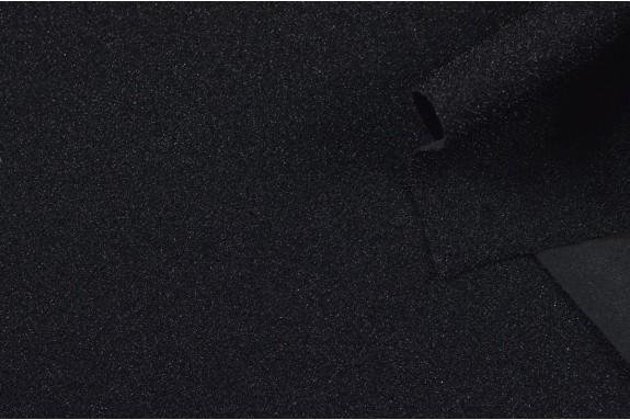 Maille pailletée noire