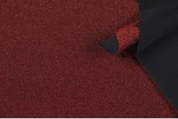 Maille pailletée rouge bordeaux