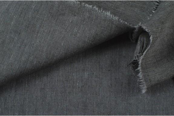 Lin chiné gris moyen