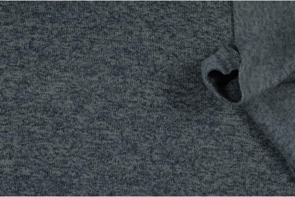 Molleton gris foncé chiné
