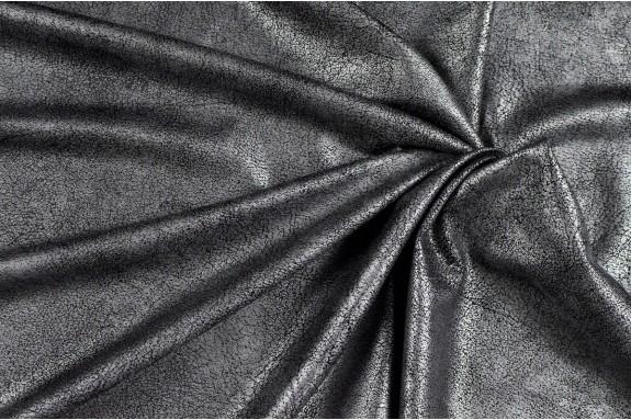 Aspect cuir vieilli gris