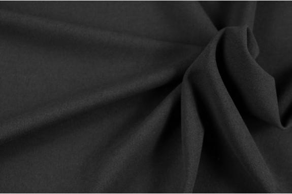 Tissu crêpé gris extensible
