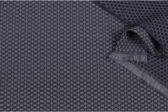 Tissu stretch Jacquard petits motifs