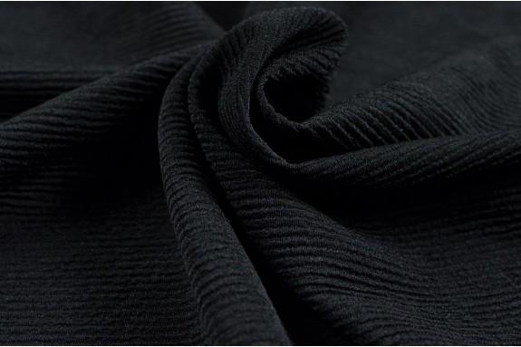 Maille structurée noire