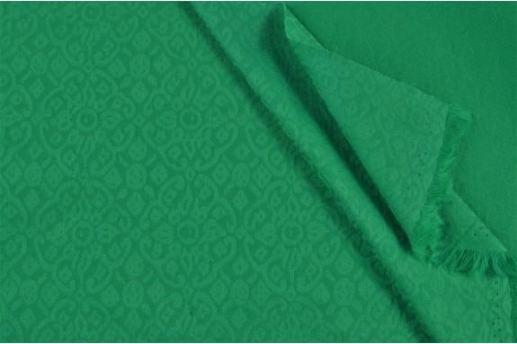 Damassé stretch vert clair