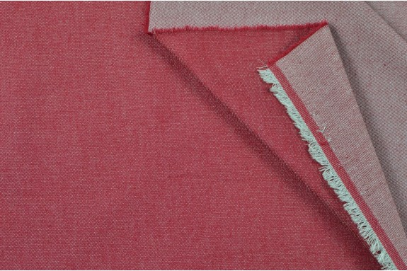 Jeans stretch rouge