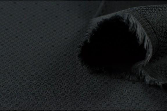 Jacquard stretch noir