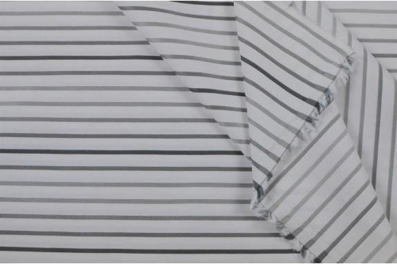 Tissu à rayures grises