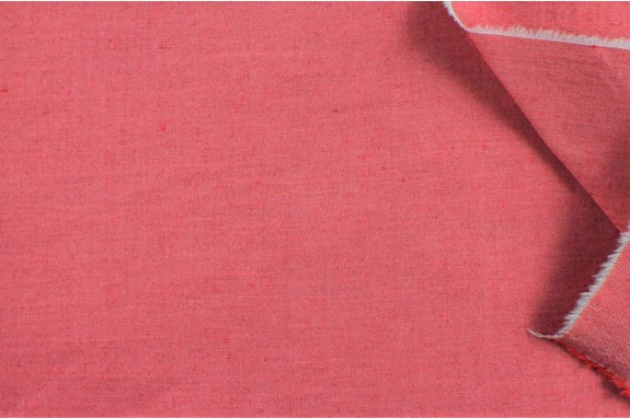 Lin rouge irisé