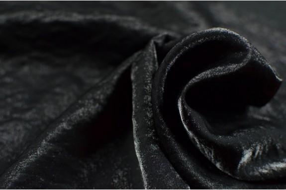 Viscose irisée noire