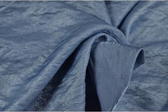 Viscose irisée bleue