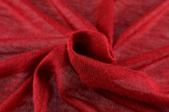 Jersey de laine rouge